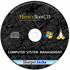 NEW & Fast Ship! Hirens Boot Erase Password / Analyze / Backup / Repair Computer