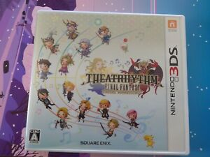 used Theatrhythm Final Fantasy 3DS Japanese version