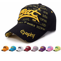 Herren Damen Basecap Snapback Trucker Kappe Hut Stickerei Vintage Baseball Cap