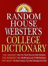 Random House Webster's College Dictionary, 2nd Edition by Costello, Robert B.