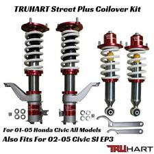 TRUHART StreetPlus Coilover Kit Adjustable for 01-05 Honda Civic All Inc EP3 SI