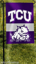 "TCU Horned Frogs 13"" x 18"" Two-Sided Garden Flag NCAA Licensed Texas Christian"
