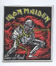 Iron Maiden Piece Of Mind synthetic 3D patch early 80's RARE