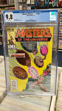 MASTERS of the UNIVERSE #2 (Marvel, 1986) CGC Graded 9.8! ~HE-MAN ~White Pages