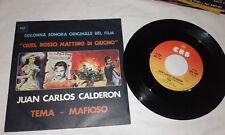 JUAN CARLOS CALDERON TEMA - MAFIOSO bolkan schell CBS 4311 / 1976