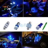 Interior Car LED Light KIT Package Xenon Blue 10K For Vauxhall ASTRA H MK5 *P