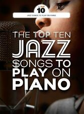 Top Ten Jazz Songs To Play on Piano So What Cantaloupe Island Tunes Music Book
