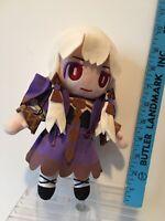 "Anime Manga Blonde Girl In Purple Dress 10"" Stuffed Plush Doll Kid Toy"