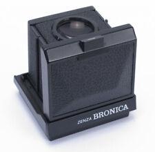 Zenza Bronica Waist Level Finder for ETR ETRS ETRSi - Mint- with bottom cap