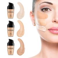 30ml Waterproof Full Coverage Liquid Concealer Face Brightening Foundation-Cream