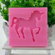 Unicorn Horse Silicone Cake Chocolate Fondant Baking Mold Sugarcraft Mould DIY