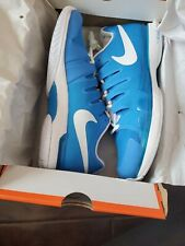 New Nike Federer ZOOM VAPOR 9.5 TOUR Tennis Shoes 631458-404Size 10 Blue