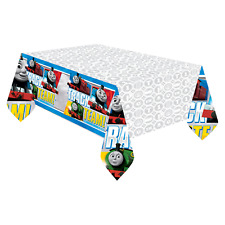 THOMAS THE TANK ENGINE  Plastic TABLECOVER Birthday Party Decoration Supplies