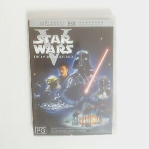 Star Wars V The Empire Strikes Back Movie DVD Region 4 AUS Free Postage