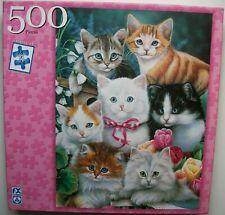 Kitten Pals 500 pc jigsaw puzzle Fx Schmid