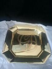 Dept, Department 56 Dickens Signature Series Brass Octagonal Plate NiB