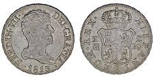 2 REALES. Ag. FERDINAND VII - FERNANDO VII. MADRID 1813 IG. VF/MBC. INTERESANTE.