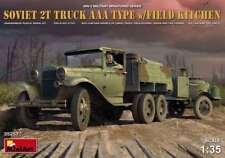 Miniart 1/35 Soviet 2T Truck AAA Type w/Field Kitchen #35257 *Sealed*new Rel.*