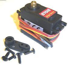 1/8 1/10 Nitro Escala Rc coche 9kg Acelerador Servo de dirección y cuernos PE Gp De Metal