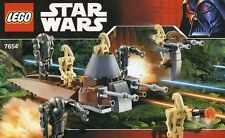 LEGO STAR WARS DROIDS BATTLE PACK 7654 ALL 7 MINIFIGURES 100% COMPLETE GUARANTEE