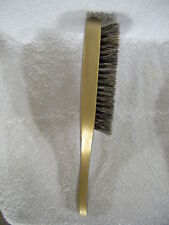 soft BRISTLE WAVE HAIR BRUSH durag MAN wood gold color handle sexy HAIR STYLE