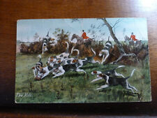 Lot28f FOX HUNTING 'The Kill'  WILDT & KRAY Series 1173 Postcard