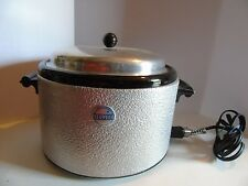 Vintage Servhot Electric Crock Pot Warmer Cooker Swartzbaugh Mfg Co. Toledo, OH