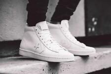NIB Converse Pro Leather 76 Mid White/White/White 155335C US Mens 10.5