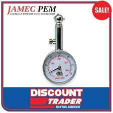 Jamec 50mm Dial Tyre Pressure Gauge 05.2898