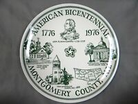 Montgomery County Bicentennial NY  - Decorative Collector Plate - vintage