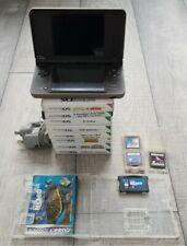 Nintendo DSi XL Consola-Marrón claro con paquete de 12 Juegos