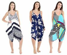 Womens Ladies Cami Jumpsuit Sleeveless Legenlook Romper Baggy Playsuit 8-26