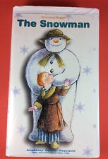 The Snowman By Raymond Briggs VHS Academy Award Nominee 1982 Clamshell Case