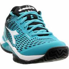 Diadora Speed Blushield 2 Ag Womens Tennis Sneakers Shoes Casual   - Blue - Size