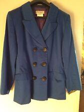 YvesSaintLaurent blue cotton jacket