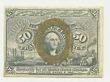 1863 50 FIFTY CENTS FRACTIONAL CURRENCY WASHINGTON BANK NOTE CIVIL WAR