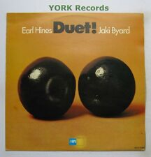 EARL HINES & JAKI BYARD - Duet! - Excellent Condition LP Record MPS MDLP-12362