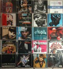 LOT 20 CD ALBUM SPECIAL HIP HOP - RAP