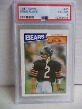1987 Topps Doug Flutie Rookie PSA EX-MT 6 Football Card #45 NFL