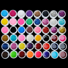 4×12 Farben Profi Farbgele UV Nagelgel Nagellack Kits Polish Gele Set DE