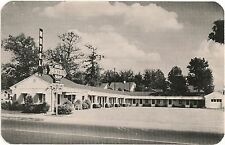 Jack-Lee Motel in Sheffield TX Roadside Postcard