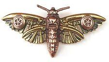Magradore's Moth Brooch Steampunk Brooch (EN6)