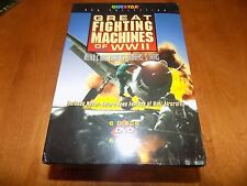GREAT FIGHTING MACHINES OF WWII ALLIED AXIS Tanks Fighters Bombers DVD SET NEW