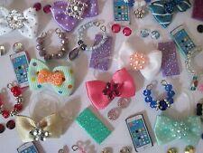 Littlest Pet Shop LPS 4 PC Clothes ACCESSORIES GRAB BAG Random Custom Lot Bows