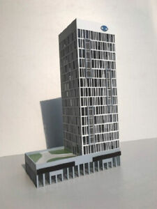 1/150 N Scale Diorama High-end Modern Architecture Plastic Building Model