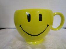 "Smiley Face Mug - Teleflora- 4 1/4"" High 3 3/4"" Opening Happy Face"