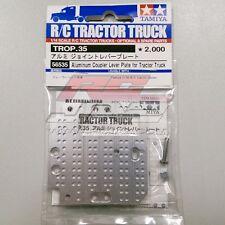 Tamiya Trop35 56535 1/14 RC Tractor Truck Aluminum Coupler Level Plate