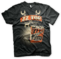 Officially Licensed ZZ-Top High Octane Racing Fuel Men's T-Shirt S-XXL Sizes