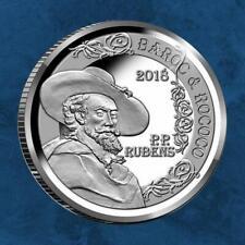 Belgien - Barock und Rokoko - Rubens - 10 Euro 2018 PP - Silber Europa Stern