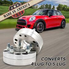 X2 Usa 4x100 5x100 4 Lug Mini To 5 Lug Wheel Adapters 175 Spacers